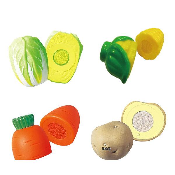 《日本Toyroyal樂雅》蔬果A組(大白菜+玉米+紅蘿蔔+馬鈴薯)