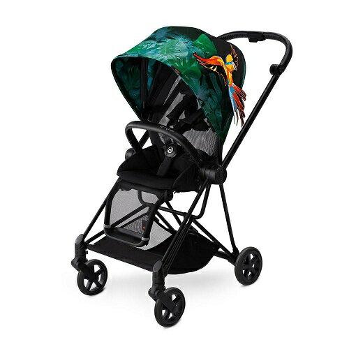 【限量天堂鳥款】德國【Cybex】MIos輕便型4輪嬰兒手推車(含轉接器雨罩)