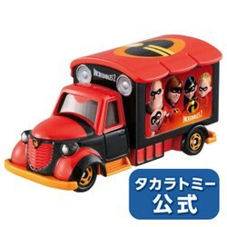 大賀屋 超人特攻隊 多美 小汽車 TOMICA 汽車 合金車 收藏車 宣傳車 迪士尼 disney日貨 正版 授權 L00010686