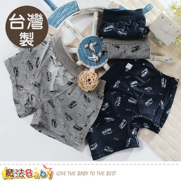 男童內褲(四件一組)台灣製男童平口內褲魔法Baby~k50893