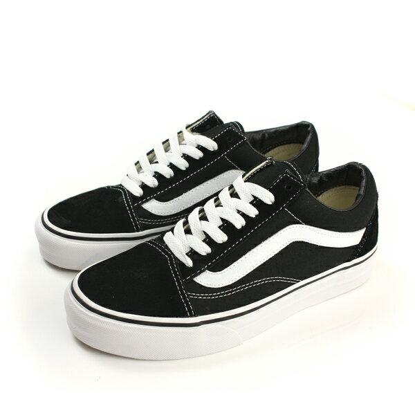 VANS Old Skool 滑板鞋 黑色 男女鞋 C207299 no311