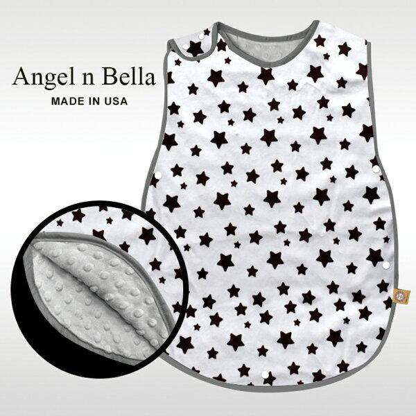 【麗嬰房】美國AngelnBella防踢毯防踢背心防踢被-許願星星