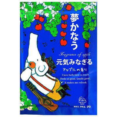 PAL PAL PO 入浴劑 元氣蘋果 25g ☆真愛香水★ 另有水果/葡萄/黃桃