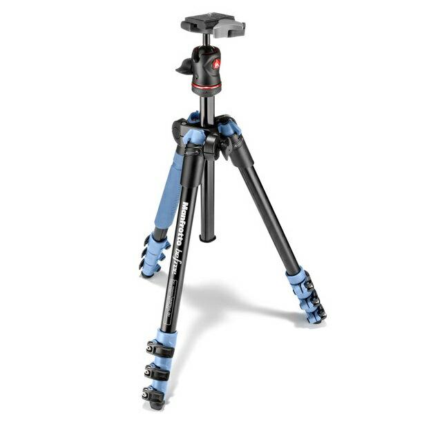 【普羅相機】MANFROTTO Befree 自由者旅行腳架套組 (藍色)