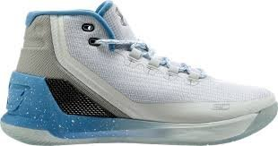 UNDER ARMOUR CURRY 3 藍 白 大童鞋 女鞋 US 4.5~7 1274061-106 D