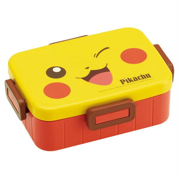 日本製皮卡丘神奇寶貝塑膠便當盒開學必備環保日本進口正版384394