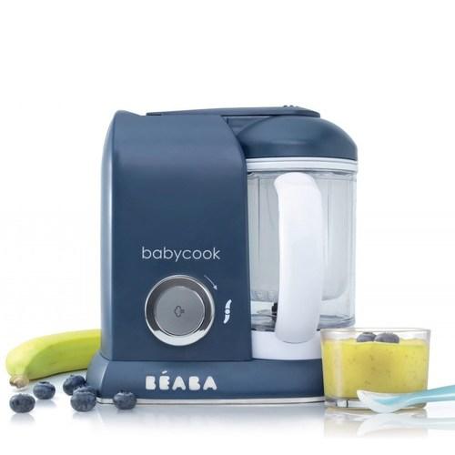 BEABA BabyCook Solo 嬰幼兒副食品調理機(深藍)【悅兒園婦幼生活館】