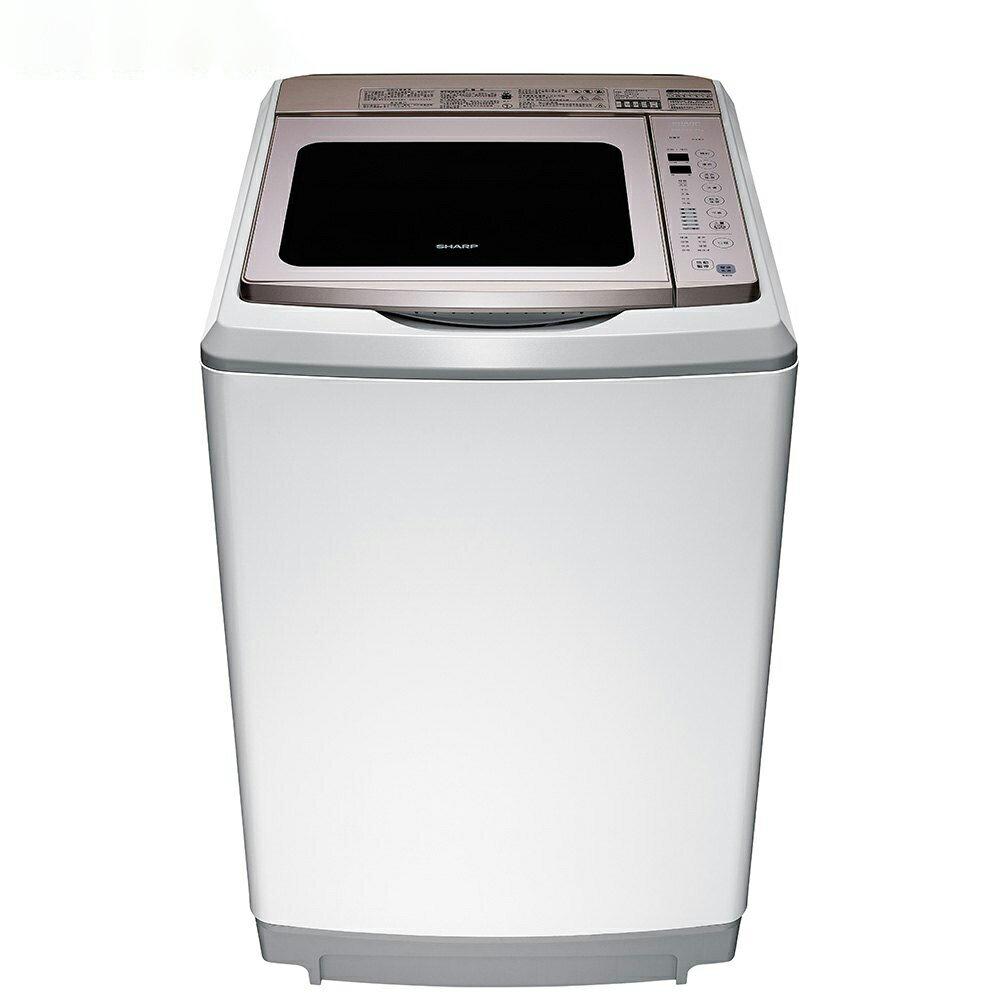 SHARP 17公斤變頻超震波洗衣機 ES-SDU17T