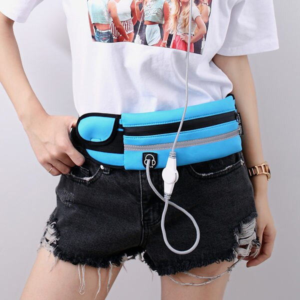 多 跑步 腰包 跑步腰包 戶外休閒工具腰包 6 吋手機包^(男女 ^)