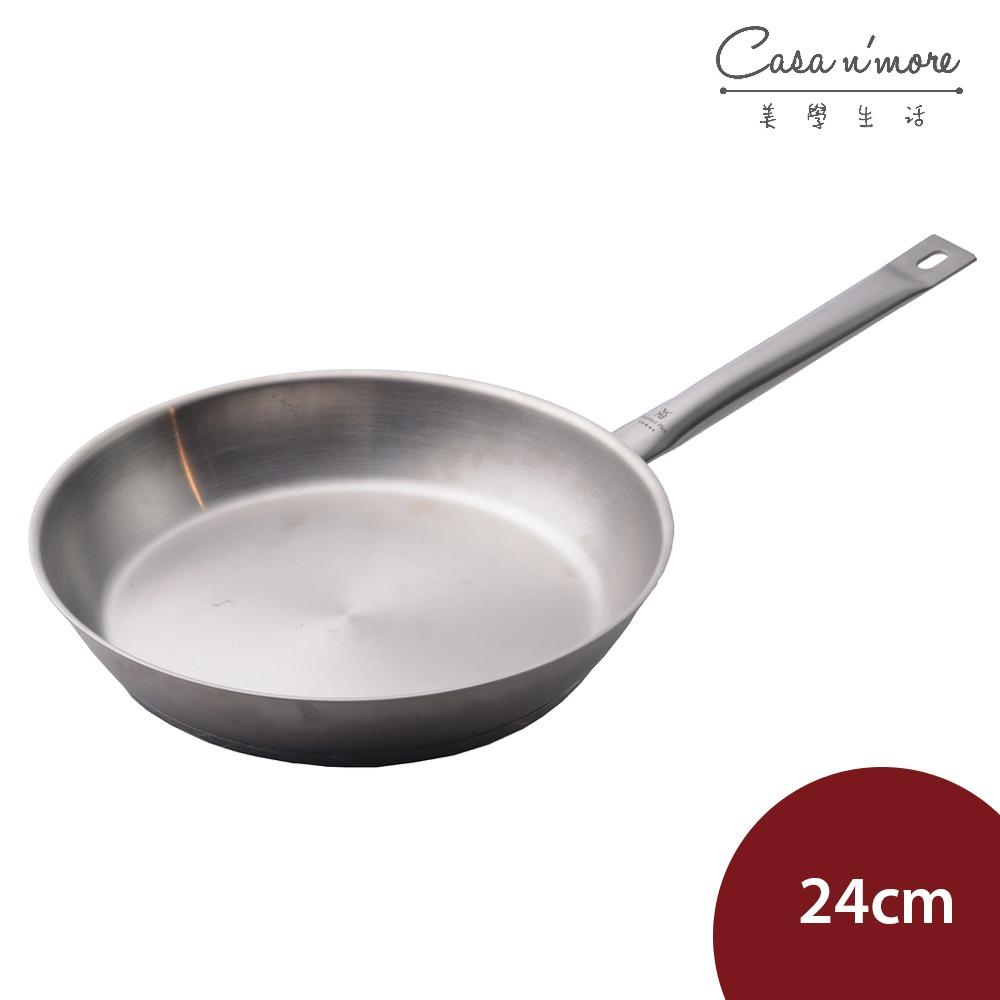 【德國WMF】Gourmet Plus 不鏽鋼平底鍋 煎鍋 炒鍋 單柄鍋 24cm 德國製