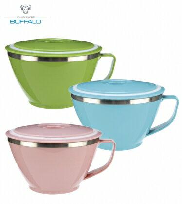 【牛頭牌】雙層隔熱粉彩杯碗
