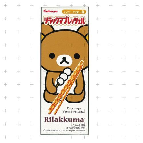 日本*卡巴拉拉熊餅乾棒27g