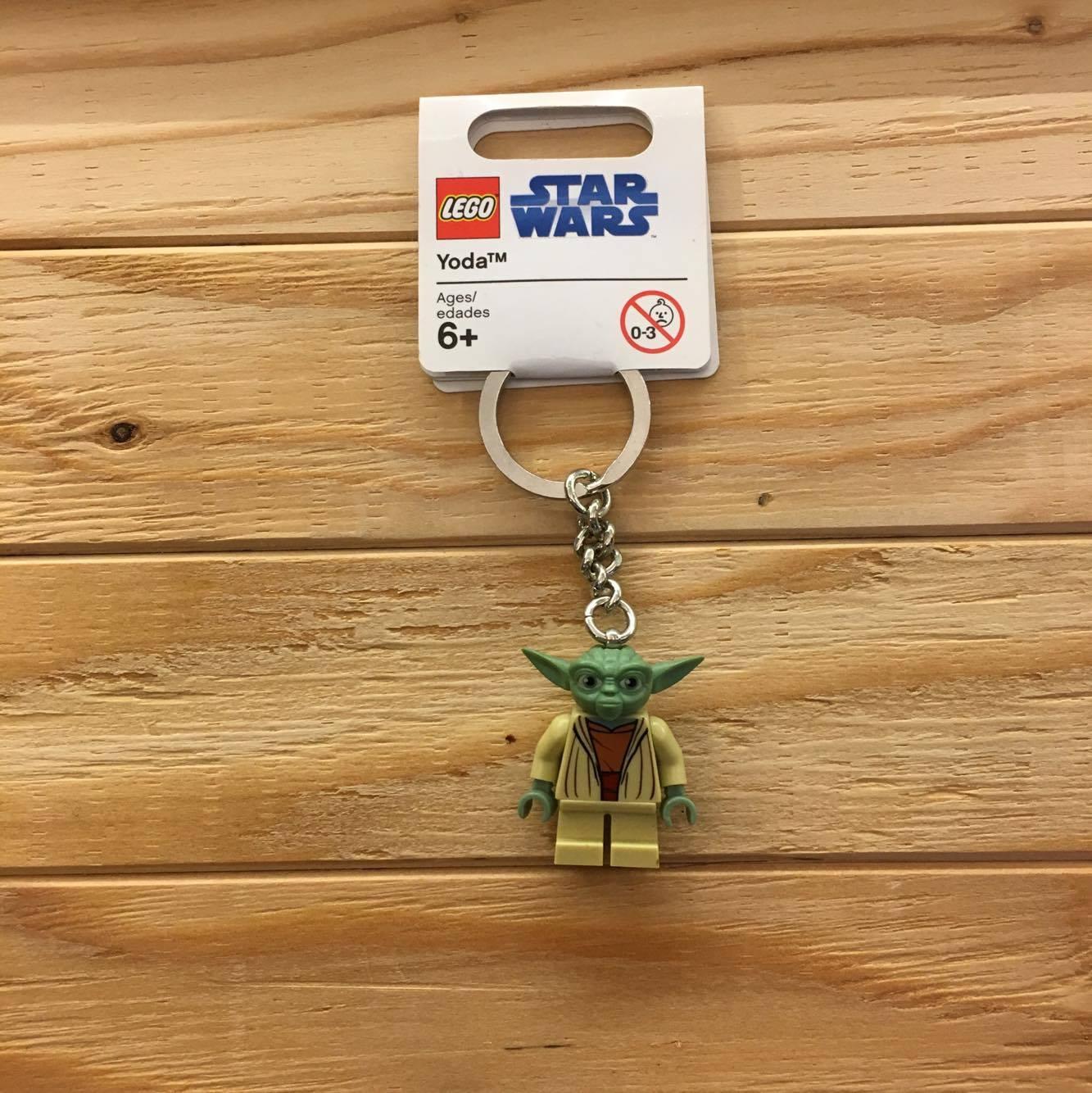 BEETLE PLUS 全新 現貨 環球影城 LEGO 樂高 星際大戰 STAR WARS 絕地武士 YODA 鑰匙圈