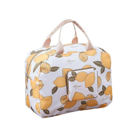 ♚MYCOLOR♚日式印花可折疊行李拉桿包手提旅行袋商務收納健身袋肩背網袋多夾層大容量短途【T07-1】