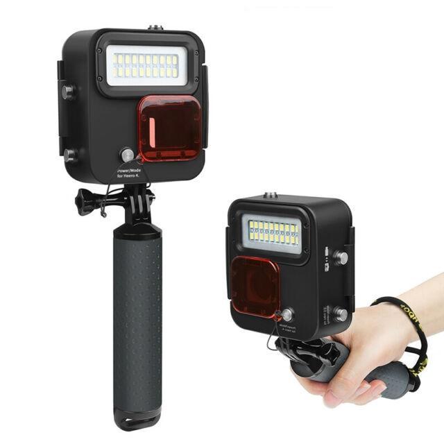 【中壢NOVA-水世界】SHOOT GoPro Action SJCAM【XTGP435 40米潛水補光燈】浮力棒