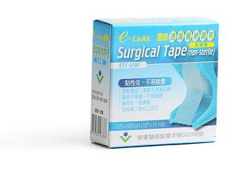 【醫康生活家】E-CARE 透氣醫療膠帶(白色) 0.5吋有台 (單入/盒)