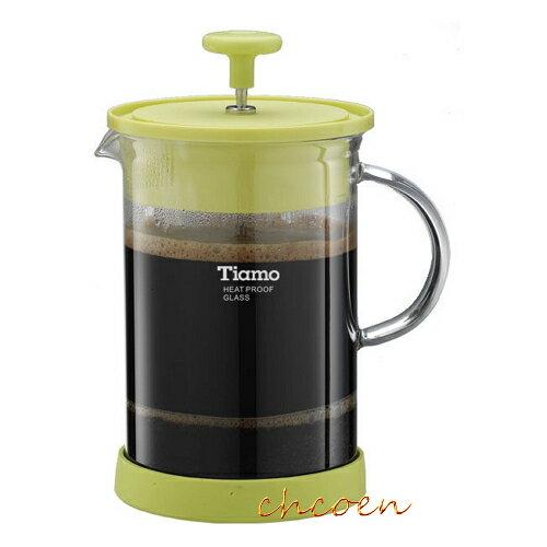 【晨光】TIAMO FH-121P多功能玻璃濾壓壺600ml(HG1982)