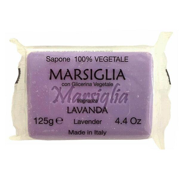 【晨光】義大利原裝進口 Iteritalia Marsiglia Line 甘油馬賽皂系列-薰衣草Lavender  125g