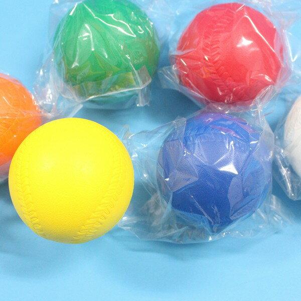 樂樂棒球 彩色高彈跳標準比賽專用樂樂棒球 直徑9cm MIT製/一個入{定80}