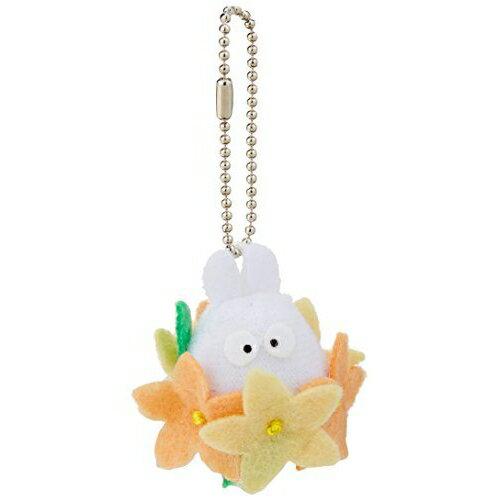 【真愛日本】 8111900010 小白花花鎖圈   龍貓 TOTORO 豆豆龍 吊飾 飾品 鑰匙圈 鎖圈
