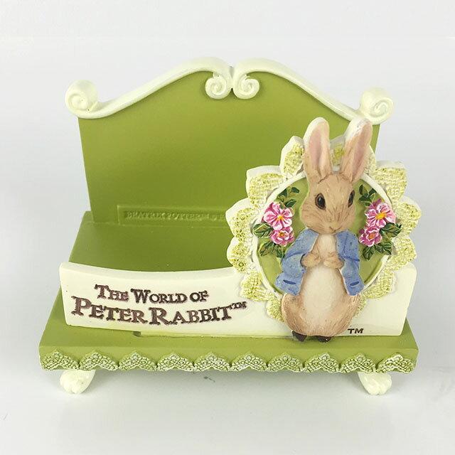 ~Annie #x27 s Friends~Peter Rabbit 比得兔名片座~綠蕾絲