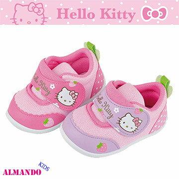 凱蒂HELLO KITTY 兒童學步鞋/嬰幼兒休閒鞋/防臭鞋墊