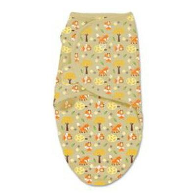 【悅兒樂婦幼用品?】美國Summer Infant 聰明懶人嬰幼兒睡袋包巾【純棉系列-麻吉狐狸】