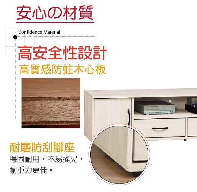 【綠家居】伊瑟琳 時尚7.1尺美型電視櫃/視聽櫃