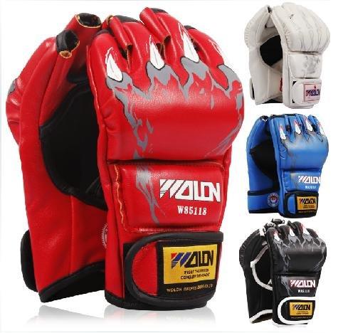 【比賽指定品牌】露指拳擊手套、分指拳擊手套、半指拳擊手套、泰拳、散打、MMA UFC 拉力繩 拳套