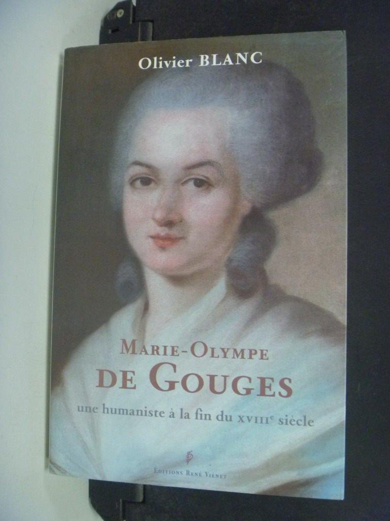 ~書寶 書T7/哲學_NSR~Marie~Olympe de Gouges : une h
