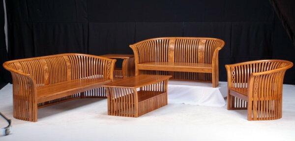 【石川家居】KL-23柚木扇形組椅台中以北搭配車趟免運費