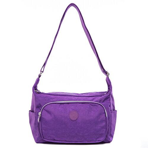 【COUNT DUCK】美系悠活輕量小資女最愛側背包-CD-014-紫色