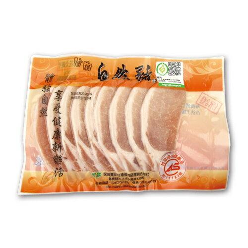 自然豬(五花火鍋片)