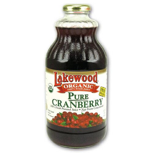 Lakewood有機純蔓越莓果汁