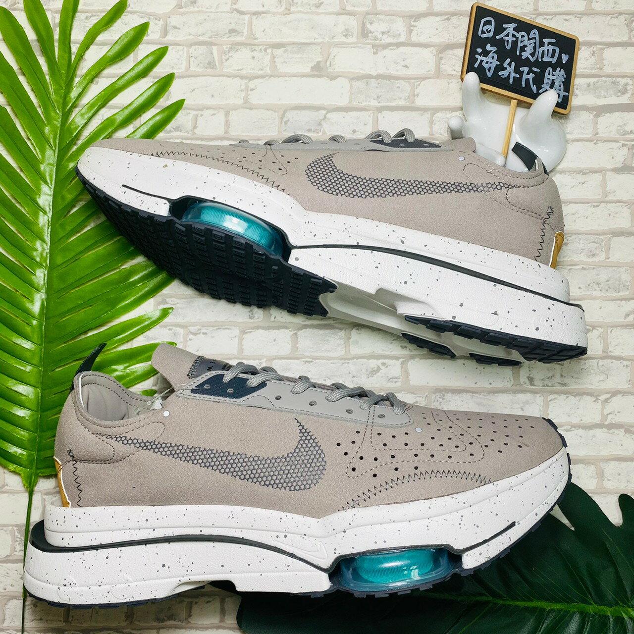 【日本海外代購】NIKE AIR ZOOM-TYPE N.354 灰色 潑墨綠 馬拉松 慢跑鞋 CJ2033-002