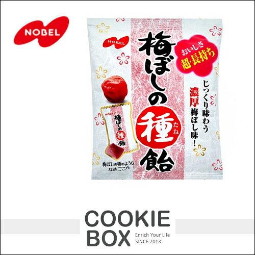 日本 NOBEL 諾貝爾 梅子籽糖 30g 糖果 梅子糖 零食 零嘴 *餅乾盒子*