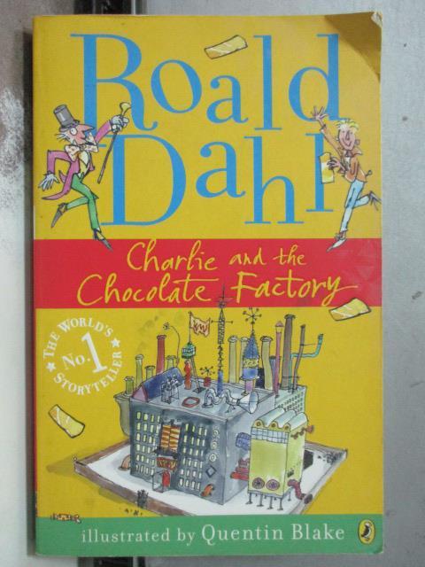 【書寶二手書T8/原文小說_OAV】Charile and the chocolate Factory
