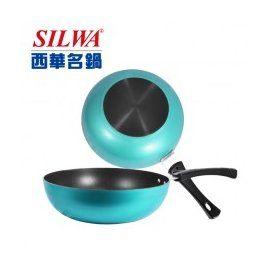 西華 馬卡龍不沾炒鍋 28cm