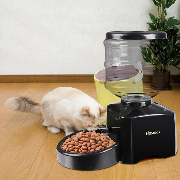 5.5 Liter Large Automatic Pet Feeder Dry Food Portion Control 4
