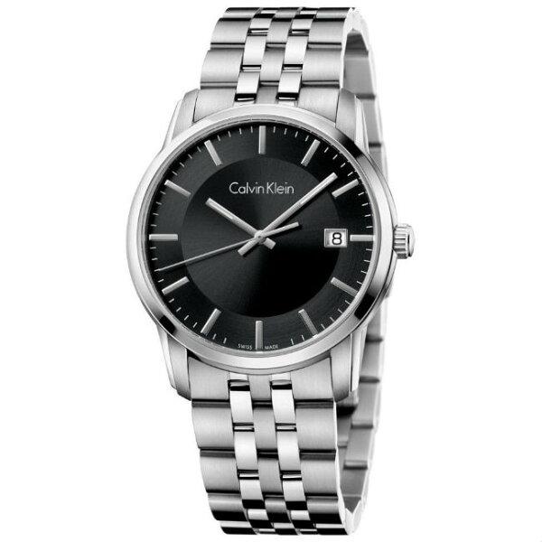 CKCalvinKlein無垠系列(K5S31141)型男紳士時尚腕錶黑面42mm