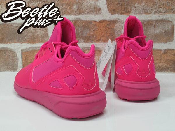 女生BEETLE ADIDAS TUBULAR RUNNER K 愛迪達 粉紅 純色 Y-3平民版 慢跑鞋 S78726 2