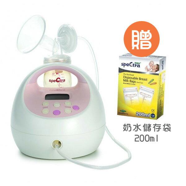 Spectra 貝瑞克 S2 醫療級電動雙邊吸乳器【送 奶水儲存袋200ml x1盒】【悅兒園婦幼生活館】 0