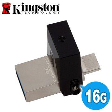 <br/><br/>  【新風尚潮流】金士頓 16G 16GB DataTraveler OTG 手機電腦兩用隨身碟 DTDUO3/16GB<br/><br/>