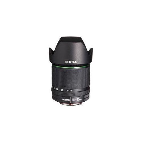 "Pentax 21977 - 18 mm to 135 mm - f/3.5 - 5.6 - Zoom Lens for Pentax KAF3 - 62 mm Attachment - 0.24x Magnification - 7.5x Optical Zoom - 2.9""Diameter 1"