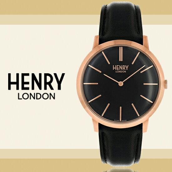 HenryLondon英國前衛品牌ICONIC復刻時尚腕錶HL40-S-0248公司貨