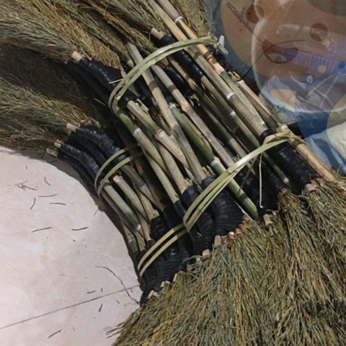 竹掃把大掃把戶外加寬家用院子環衛
