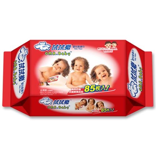 拭拭樂 嬰兒超純水柔濕巾 85抽