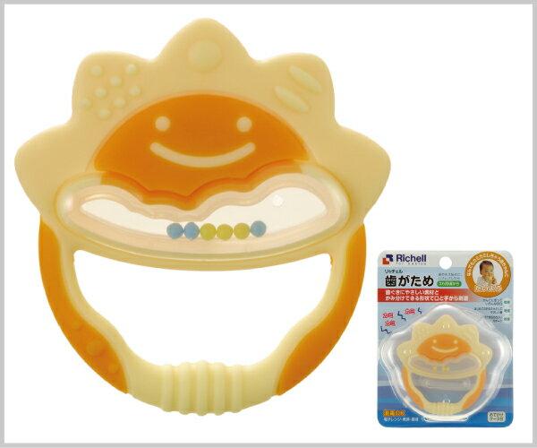 Richell利其爾 - 固齒器 橘黃色一般型 (盒裝) 8