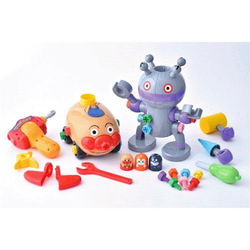 日本代購預購日本進口麵包超人anpanmanDIY電動工具玩具組合玩具益智玩具兒童玩具707-199