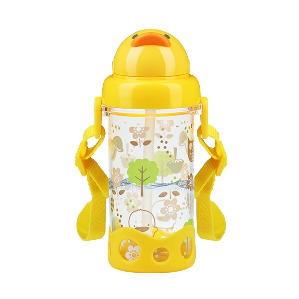 黃色小鴨 Tritan吸管水壺400ml【德芳保健藥妝】 - 限時優惠好康折扣